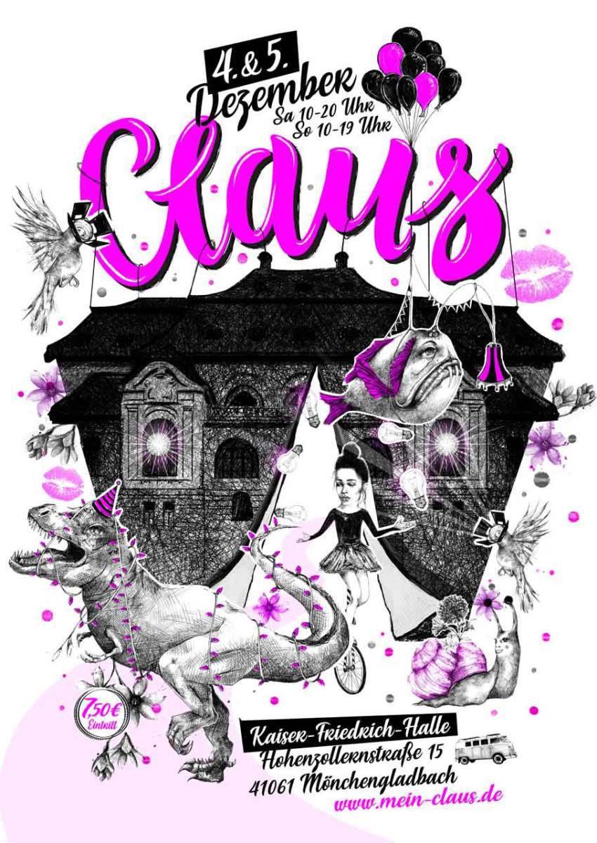 Claus 2021 Plakat
