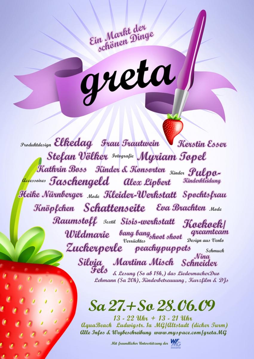 Greta 2009 Plakat