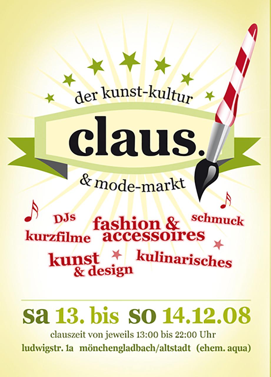 Grafik Claus 2008 Plakat