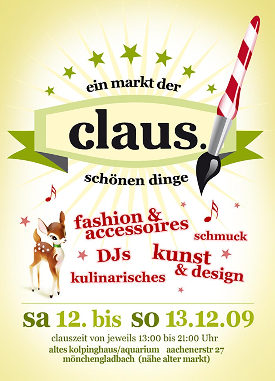 Grafik Claus 2009 Plakat