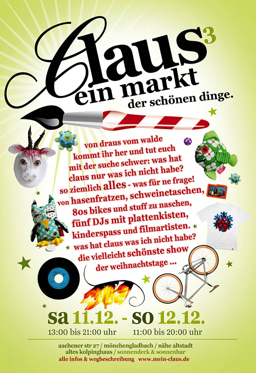 Grafik Claus 2010 Plakat
