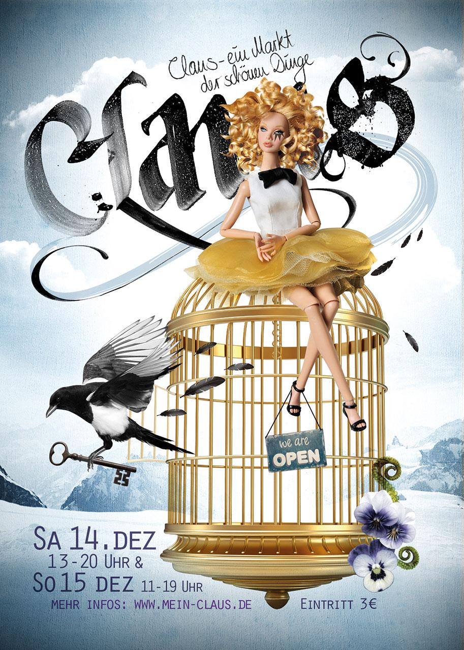 Grafik Claus 2013 Plakat