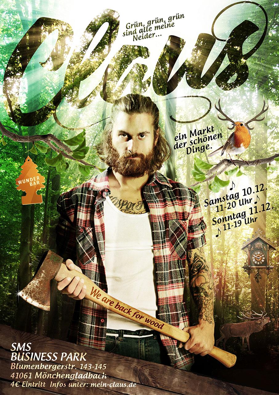 Grafik Claus 2016 Plakat