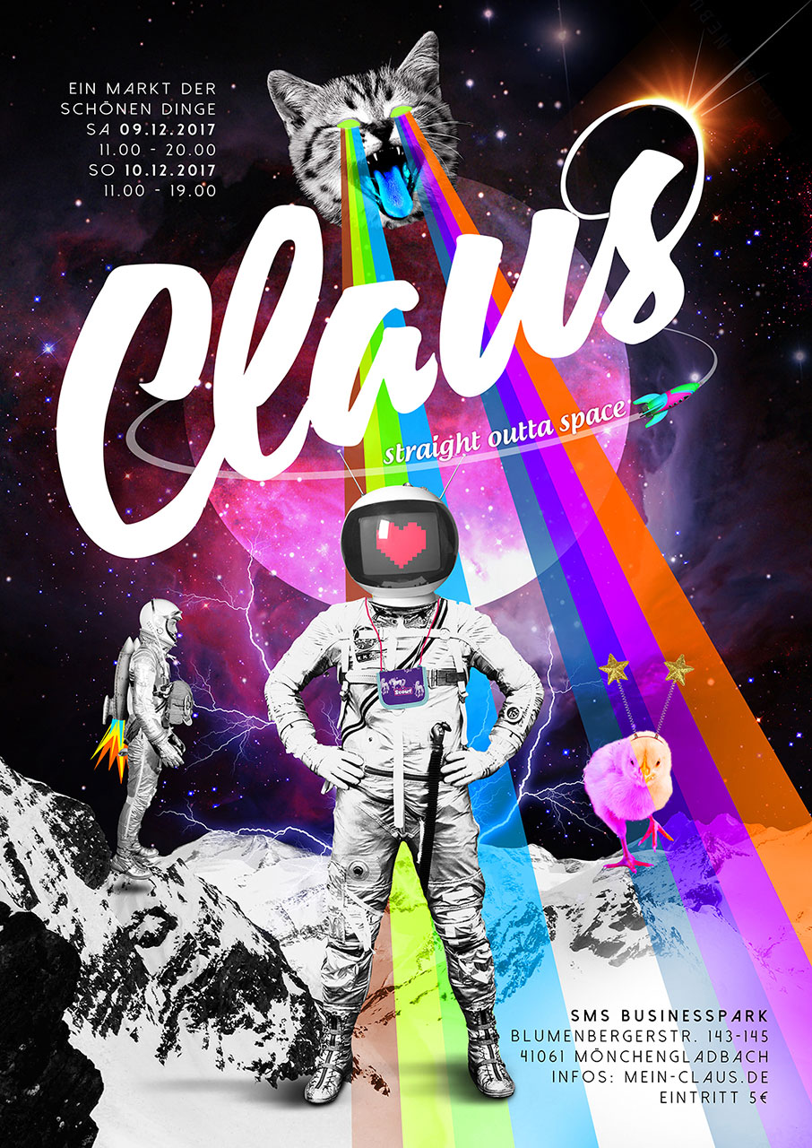 Grafik Claus 2017 Plakat