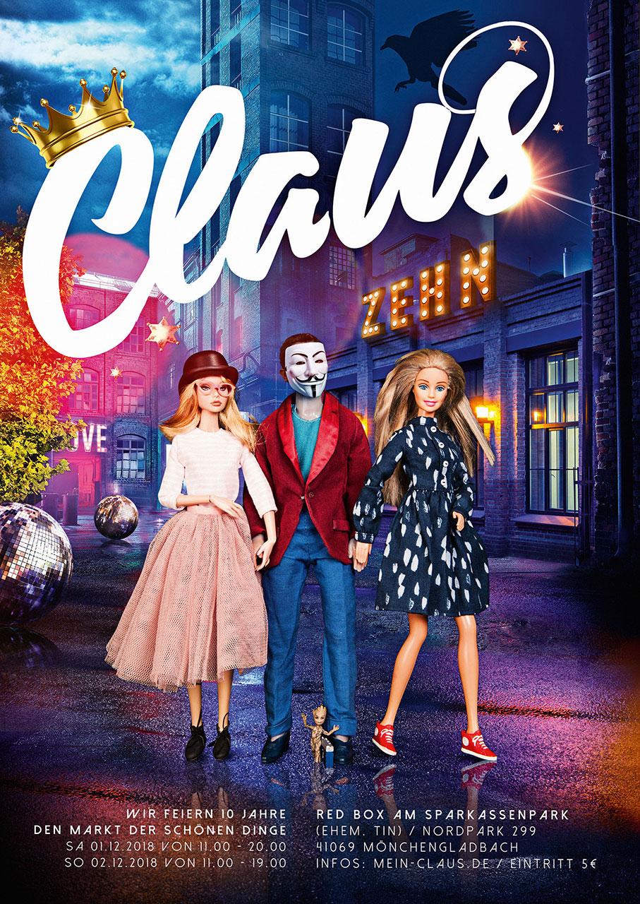 Grafik Claus 2018 Plakat
