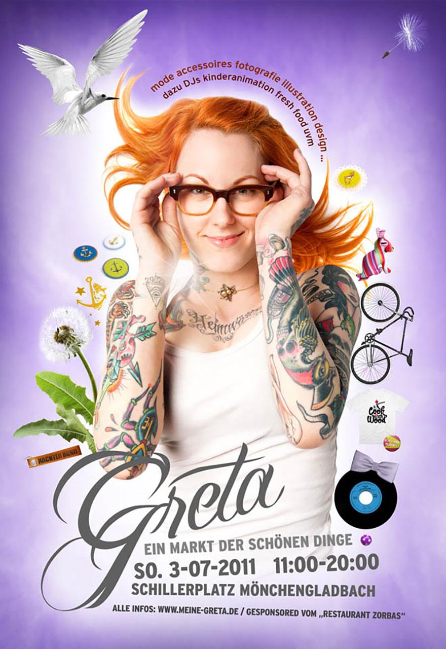 Grafik Greta 2011 Plakat