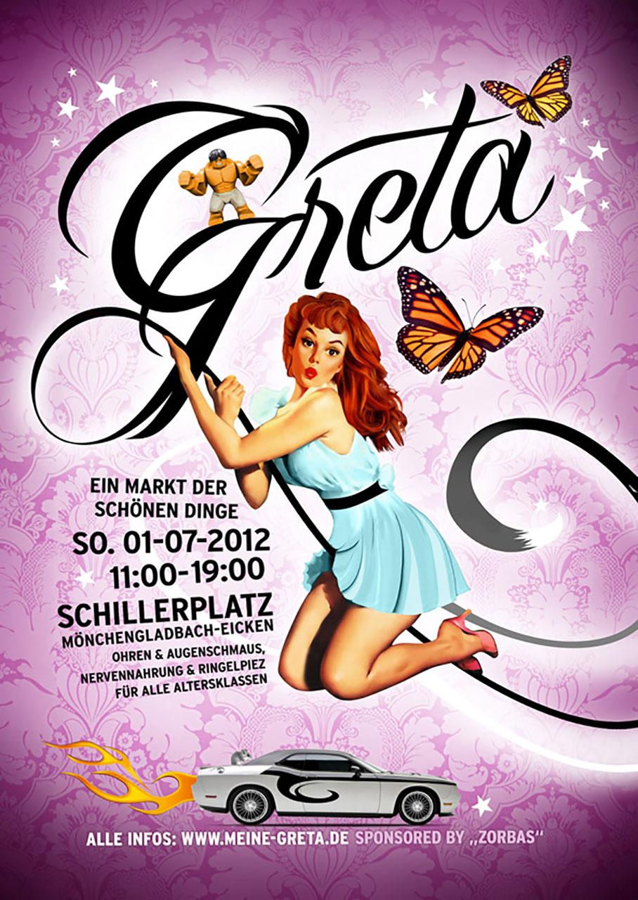 Grafik Greta 2012 Plakat