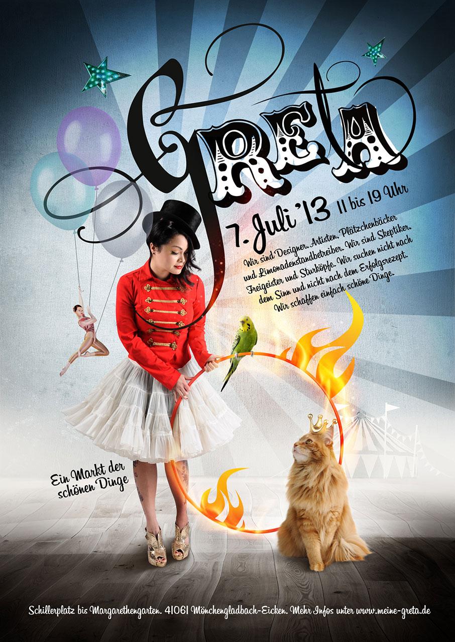 Grafik Greta 2013 Plakat