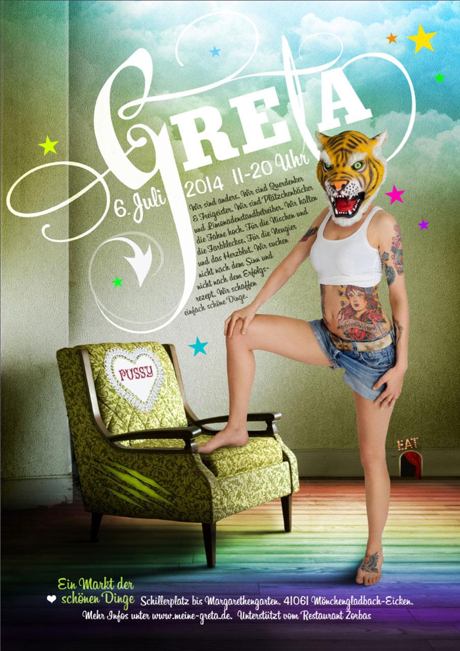 Grafik Greta 2014 Plakat