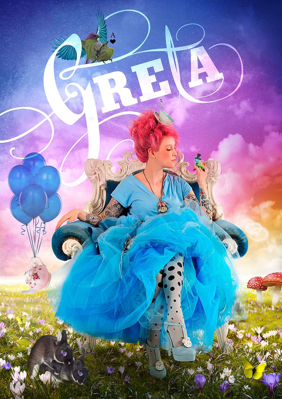 Grafik Greta 2015 Plakat