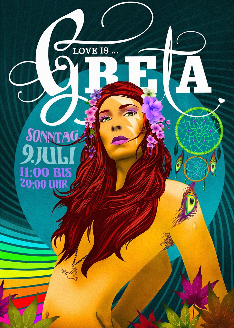Grafik Greta 2017 Plakat