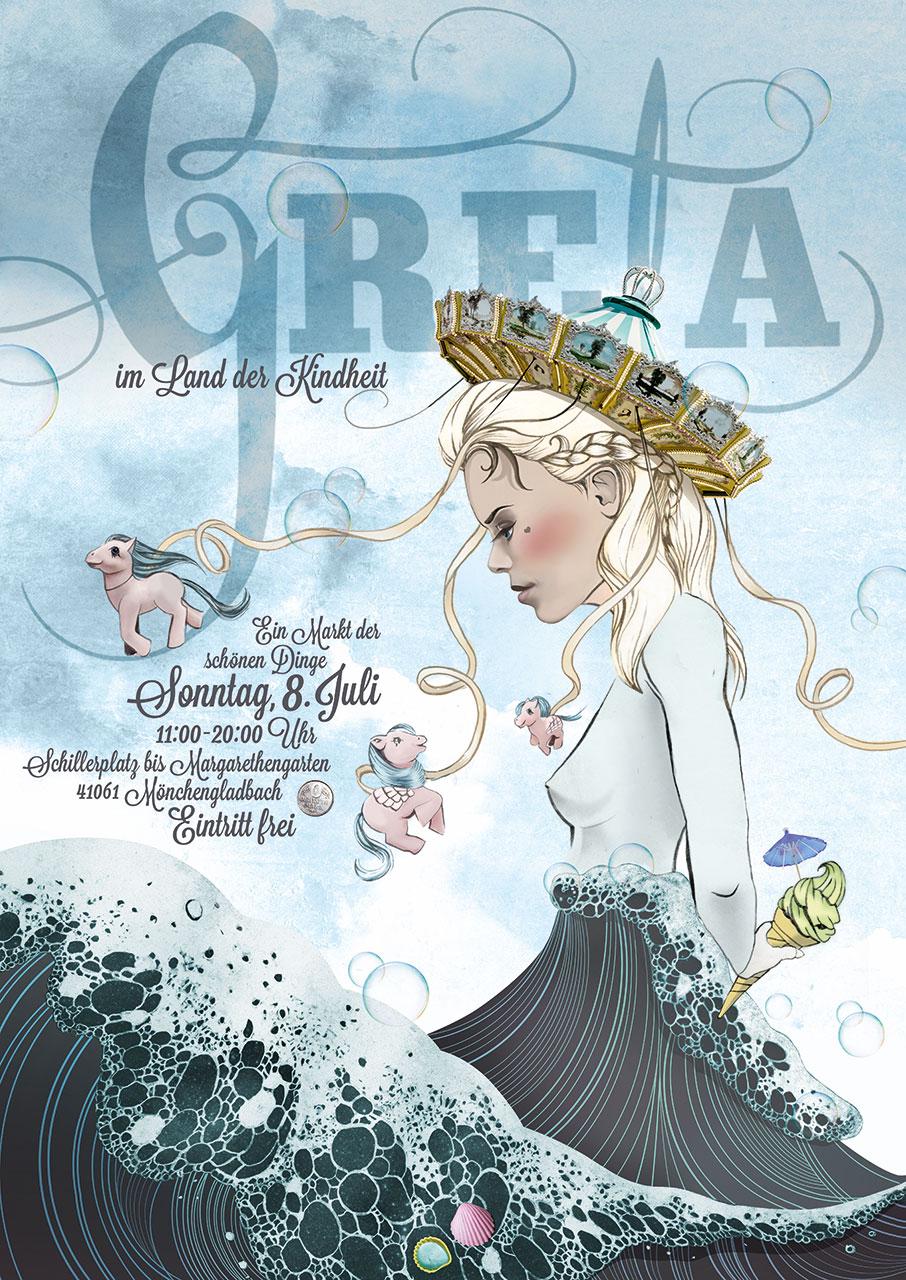 Grafik Greta 2018 Plakat