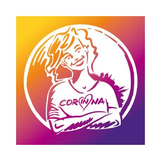 Grafik Logo Corinna e.V. Kulturoffensive Moenchengladbach