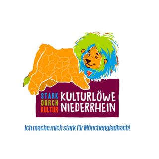 Grafik Logo Kulturloewe Niederrhein