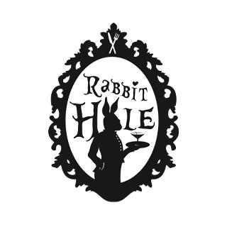 Grafik Logo Rabbit Hole Moenchengladbach