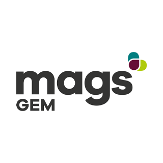 Grafik Logo mags GEM