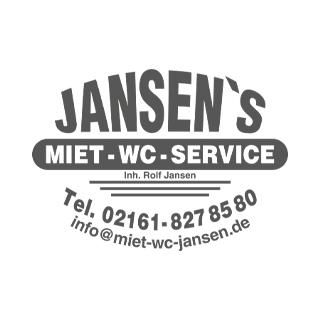 Grafik Logo Jansen's Miet-WC-Service