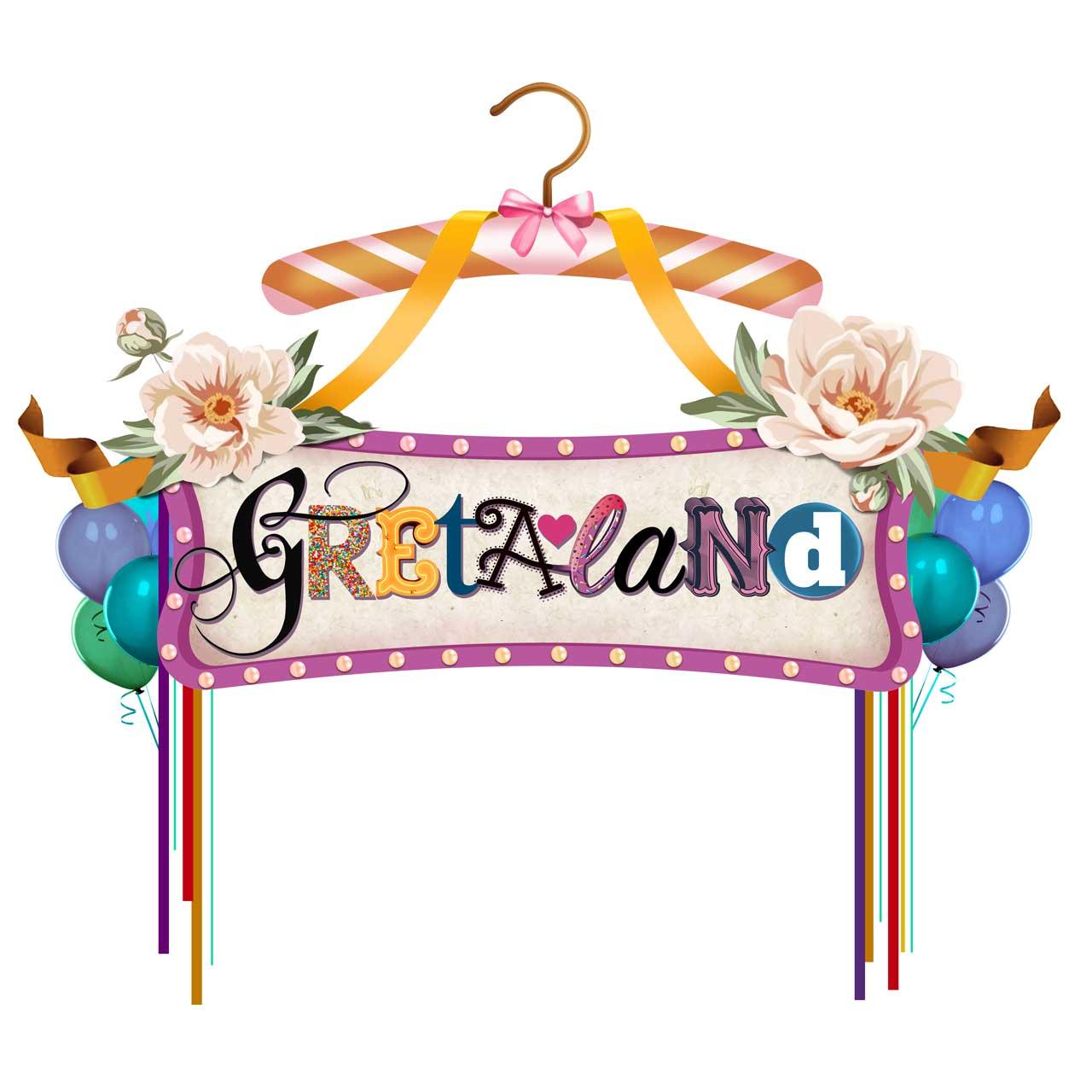 Grafik Gretaland Entrée