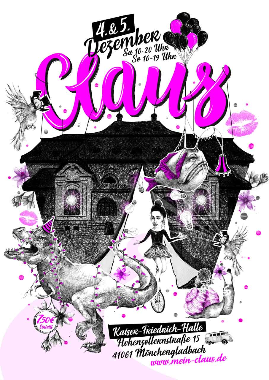 Grafik Claus 2021 Plakat